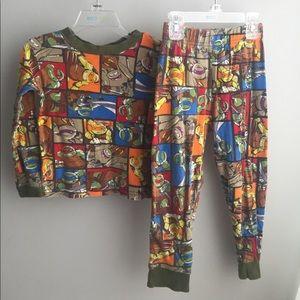 Boys Ninja Turtles Long Sleeve pajama set 6